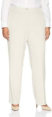 Calvin Klein Women's Plus Size Classic Fit Lux Pant
