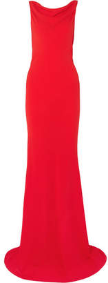 Gareth Pugh Crepe Gown - Red