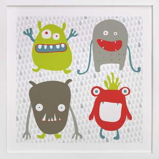 Monster Mash Children's Art Print