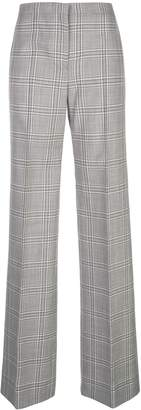 Narciso Rodriguez plaid print trousers