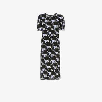 Marni patterned t-shirt dress