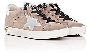 Golden Goose Kids' Superstar Suede Sneakers - Gray