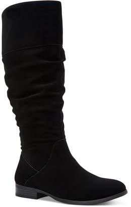 Style&Co. Style & Co Kelimae Wide-Calf Scrunched Boots, Women Shoes