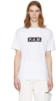 Perks And Mini White P.A.M. Logo T-Shirt