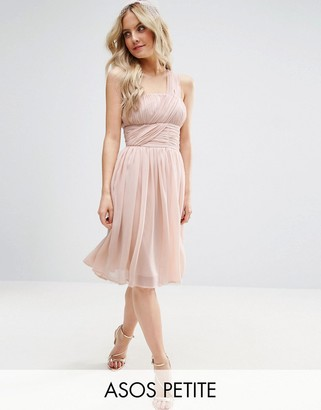 ASOS Petite ASOS PETITE Wedding One Shoulder Dress $91 thestylecure.com