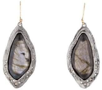 Alexis Bittar Labradorite Elements Rocky Drop Earrings