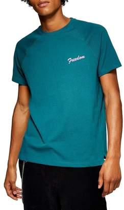 Topman Freedom Print T-Shirt