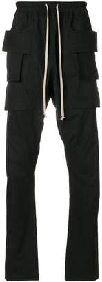 Rick Owens cargo pocket trousers