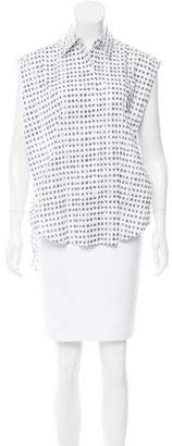 Tome Printed Sleeveless Top w/ Tags