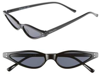 Sam Edelman 54mm Small Funky Cat Eye Sunglasses