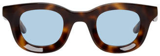 Rhude Tortoiseshell and Blue Thierry Lasry Edition Rhodeo Sunglasses