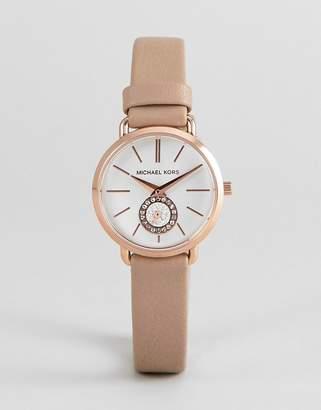 Michael Kors MK2752 Portia Leather Watch