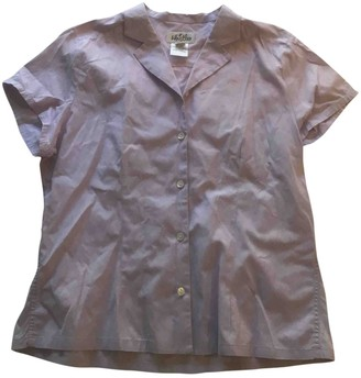 Whistles Purple Cotton Top for Women