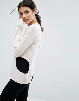 Asos Design Jumper with Cut Out Detail