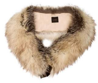 Fur Fox Velvet Bow Stole