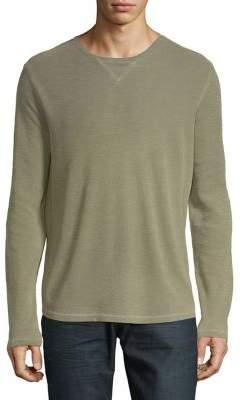 Black & Brown Black Brown Long Sleeve Crewneck Shirt