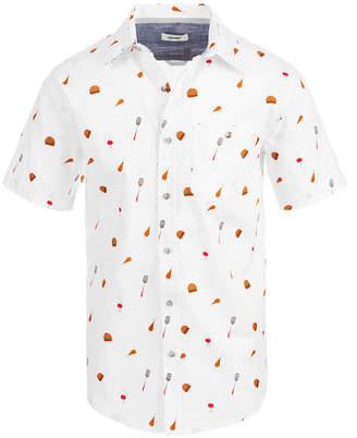 Univibe Men's Bbq Print Shirt