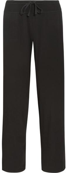 DKNYDKNY - Stretch-pima Cotton Jersey Track Pants - Black