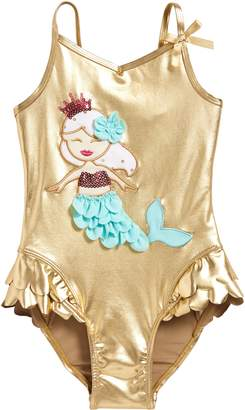Flapdoodles Mermaid One-Piece Swimsuit