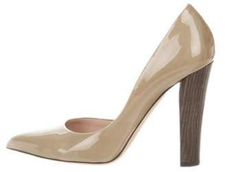 Reed Krakoff Patent Leather d'Orsay Pumps Patent Leather d'Orsay Pumps