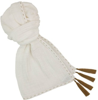 NUMERO 74 Pompom Scarf 55*160 - Girl and Woman Collection - $34.80 thestylecure.com