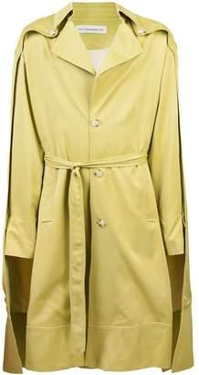 Chin Menswear Intl double cloak trench coat