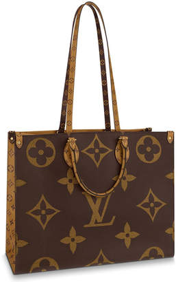 Louis Vuitton Onthego Monogram Giant Reverse Brown