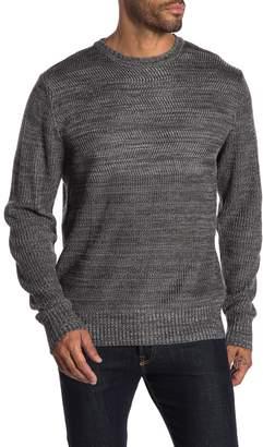 Weatherproof Crew Neck Half Stitch Sweater