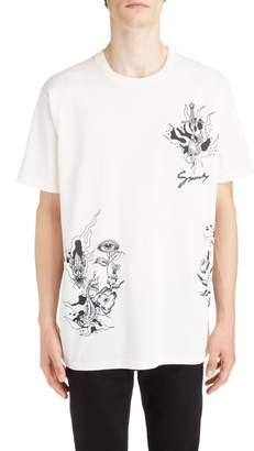 Givenchy Dragon Print T-Shirt