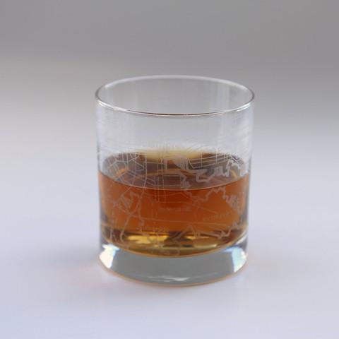 theUncommonGreen Baltimore Rocks Glass Set Of 2