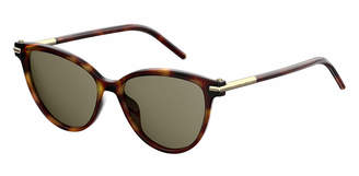Marc Jacobs Gradient Plastic Cat-Eye Sunglasses