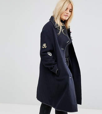Asos Coat With Military Badges