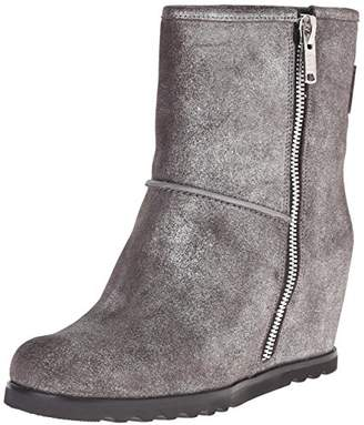 Marc by Marc Jacobs Women's Harper Side Zip Wedge Boot $348 thestylecure.com