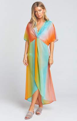e3238f56052 Show Me Your Mumu Get Twisted Maxi Dress ~ Rainbow Stripe
