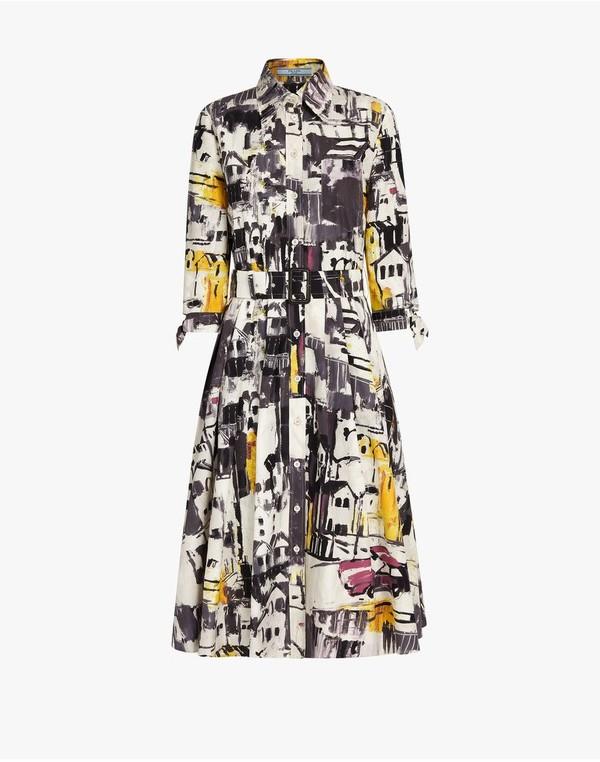 Prada Prada Cotton Poplin Dress