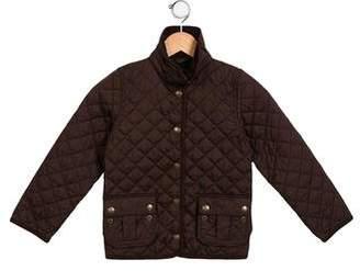 Ralph Lauren Boys' Quilted Collared Jacket