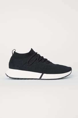 H&M Fully-fashioned Sneakers - Black