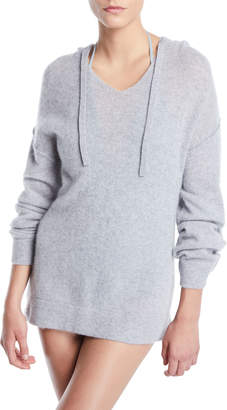 Onia Lauren Hooded Cashmere Coverup