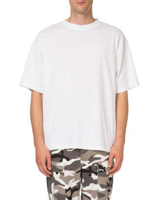 Balenciaga Men's Rainbow I Love Techno T-Shirt