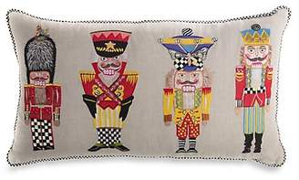 Mackenzie Childs MacKenzie-Childs Nutcracker Brigade Lumbar Pillow