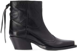 HTC Los Angeles ankle western boots