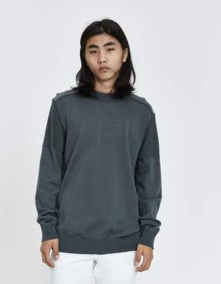 S.N.S. Herning Fatum Crewneck Sweater in Grey Absolute