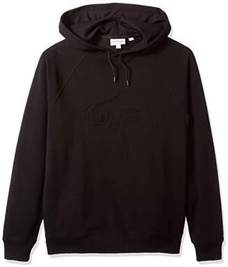 Lacoste Men's Long Sleeve Embroidered Hoodie Sweatshirt