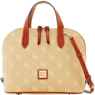 Dooney & Bourke Maxi Quilt Zip Zip Satchel