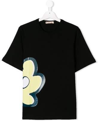 Marni TEEN flower print T-shirt