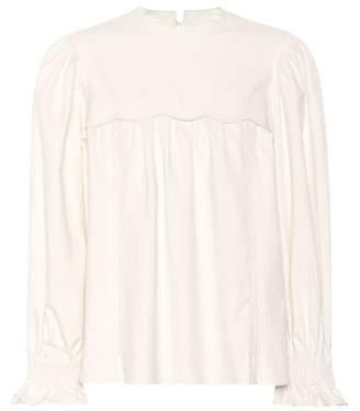 Isabel Marant Wensley cotton top