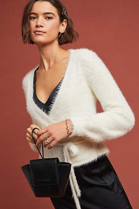 Cupcakes And Cashmere Andress Wrap Sweater