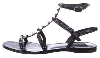 Valentino Rolling Rockstud Thong Sandals