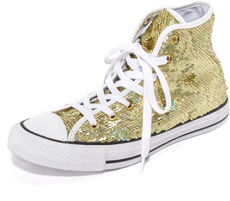 Converse Chuck Taylor Holiday Party High Top Sneakers $80 thestylecure.com