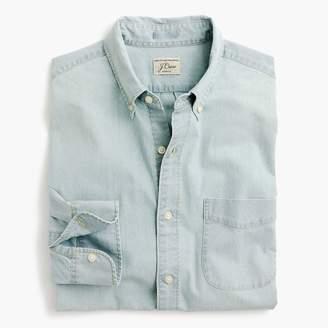 J.Crew Light wash stretch chambray shirt